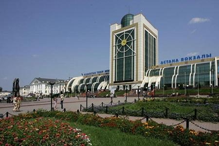Ж/д вокзал г. Астана